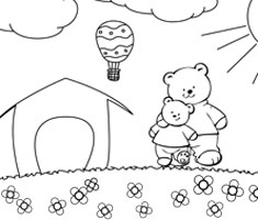 [Translate to Singapore (English):] NUK colouring page
