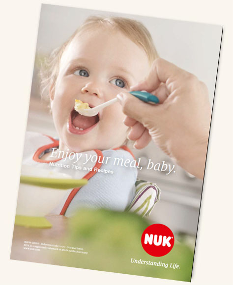 [Translate to Singapore (English):] NUK Kids Food Recipe Booklet