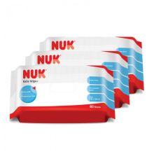 NUK Baby Wipes (80sx 3)
