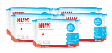 NUK Anti-bacterial Wet Wipes 20pcs x 5