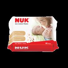 NUK Dry Cotton Wipes