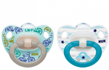 NUK Happy Days Silicone Soother