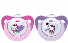 NUK Hello Kitty Silicone Soother